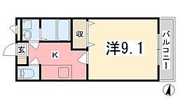 プレザンハイム[102号室]の間取り