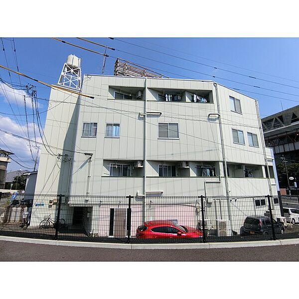 熊本県熊本市中央区渡鹿7丁目の賃貸マンションの外観