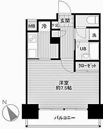ベスト横浜[1002号室]の間取り