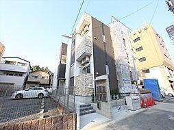 愛知県名古屋市北区清水5の賃貸アパートの外観