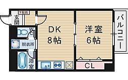 ラクーンドッグ[2階]の間取り