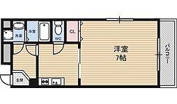 イーストコート新大阪[2階]の間取り