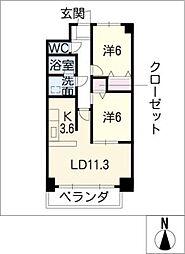 PASSAGGIO[2階]の間取り