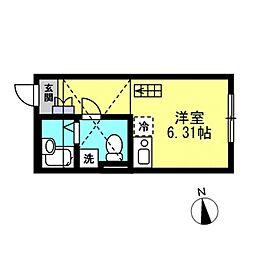 SJ House IV[104号室]の間取り