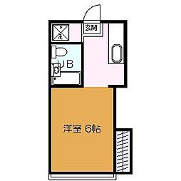 Y'Sアパートメント[1階]の間取り