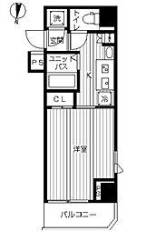 スカイコート武蔵新田 bt[301kk号室]の間取り