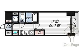 プレサンス梅田北デイズ[2階]の間取り