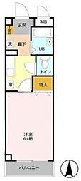 千葉県柏市旭町3丁目の賃貸マンションの間取り