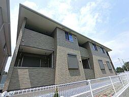 千葉県四街道市吉岡の賃貸アパートの外観