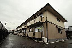 広島県広島市佐伯区利松1丁目の賃貸アパートの外観