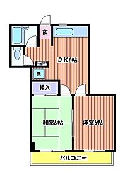 サミリヤ[3階]の間取り