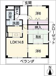 KREIS[1階]の間取り