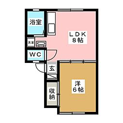 福田町駅 3.8万円