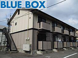 愛知県岡崎市井田新町の賃貸アパートの外観