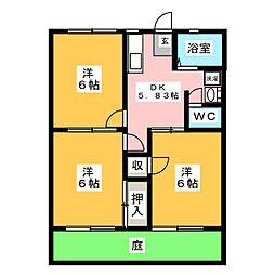 タケックス6[1階]の間取り