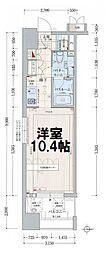 デュオン新大阪レジデンス[8階]の間取り