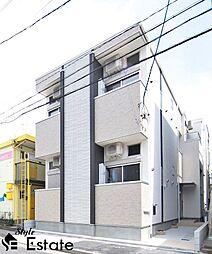 近鉄名古屋線 黄金駅 徒歩7分の賃貸アパート