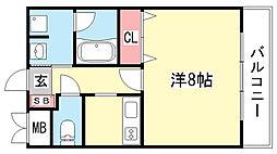 コンフォート・トーユー[402号室]の間取り