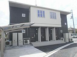 愛媛県松山市安城寺町の賃貸アパートの外観