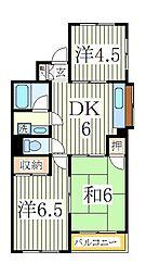 ヨートミクハイム[2階]の間取り