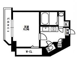 セントアミー新大阪北[6階]の間取り