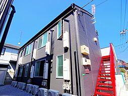 東京都練馬区南大泉4丁目の賃貸アパートの外観