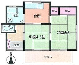 [一戸建] 神奈川県座間市栗原中央2丁目 の賃貸【/】の間取り