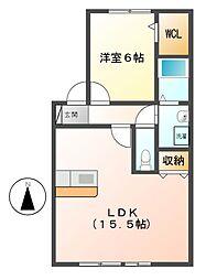 アマービレ[1階]の間取り