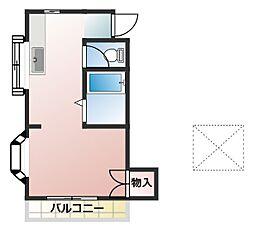 ハイツセキネ[1階]の間取り