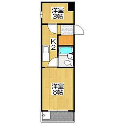 メゾンドパヴィヨン[3階]の間取り
