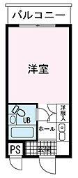 長泉Aハウス[0306号室]の間取り