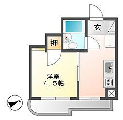メゾン覚王山[6階]の間取り