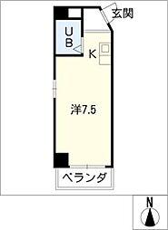 アート・イン[6階]の間取り