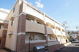 神奈川県横浜市港北区大倉山1丁目の賃貸アパートの外観