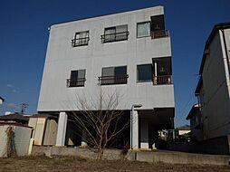 長野県上田市常田2丁目の賃貸アパートの外観