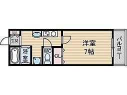 ヴィラージュ吉田[3階]の間取り