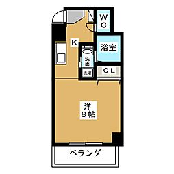 サン・錦本町ビル[11階]の間取り