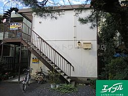滋賀県大津市中央2丁目の賃貸アパートの外観