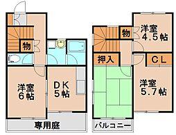 八重洲ハイツ[2階]の間取り