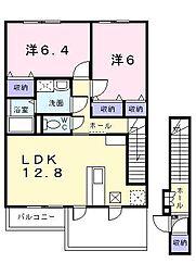 ソフィア31[2階]の間取り