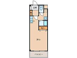クレストモナーク[1階]の間取り