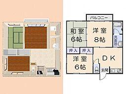 桜ハイムA[102号室]の間取り