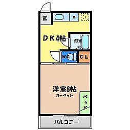 みずほ寮[2階]の間取り