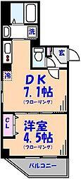 金太郎ヒルズ201[701号室]の間取り
