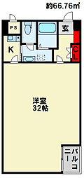 南小倉駅前ビル[701号室]の間取り
