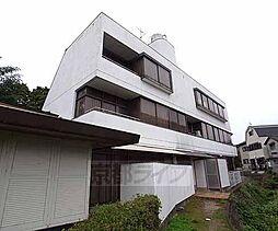 京都府京都市山科区御陵田山の賃貸マンションの外観