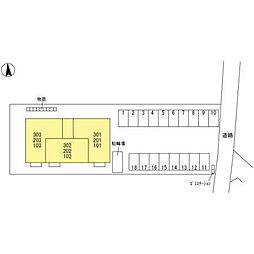 (仮)D-room元町[201号室]の外観