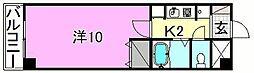 ベルメゾン福音寺[103 号室号室]の間取り