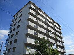 大阪府寝屋川市讃良西町の賃貸マンションの外観