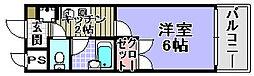 メゾン和泉[303号室]の間取り